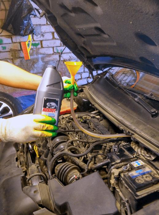 Замена тормозной жидкости авто